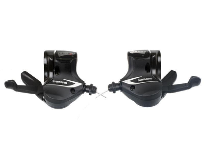 SHIMANO Manettes de Vitesses 3x8 Vitesses SL-M360 Acera Avec Cables