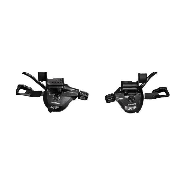 SHIMANO Manettes Paire 2/3x11v SL-M8000 Deore XT Avec Cables Fixation I-Spec