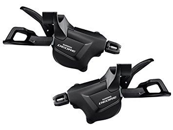 SHIMANO Manettes Paire 3x10v SL-M6000-I Deore Fixation I-Spec