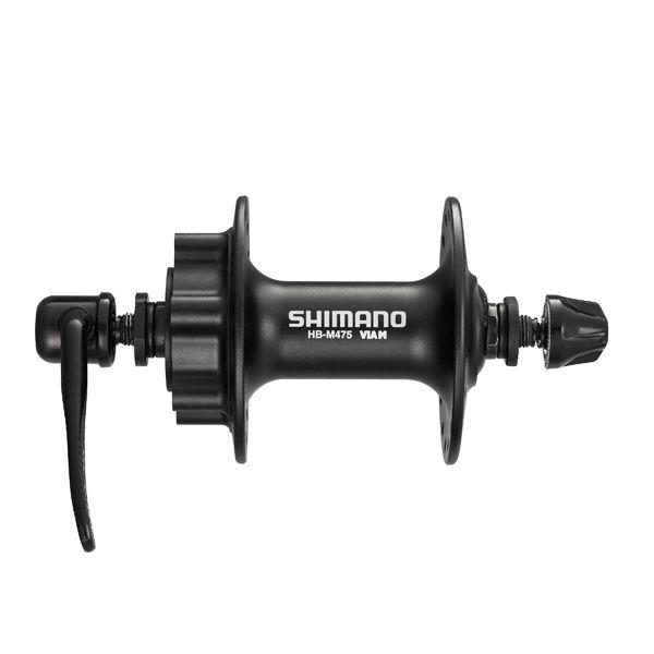 SHIMANO Moyeu Avant 100/32 Disc 6 Tr HB-M475