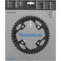 SHIMANO Plateau 44D-AEFC-T671 Noir Flasque