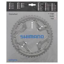 SHIMANO PLATEAU TREKKING PLATEAU LX TREKKING T661 48 DENTS 10V TRIPLE ARGENT