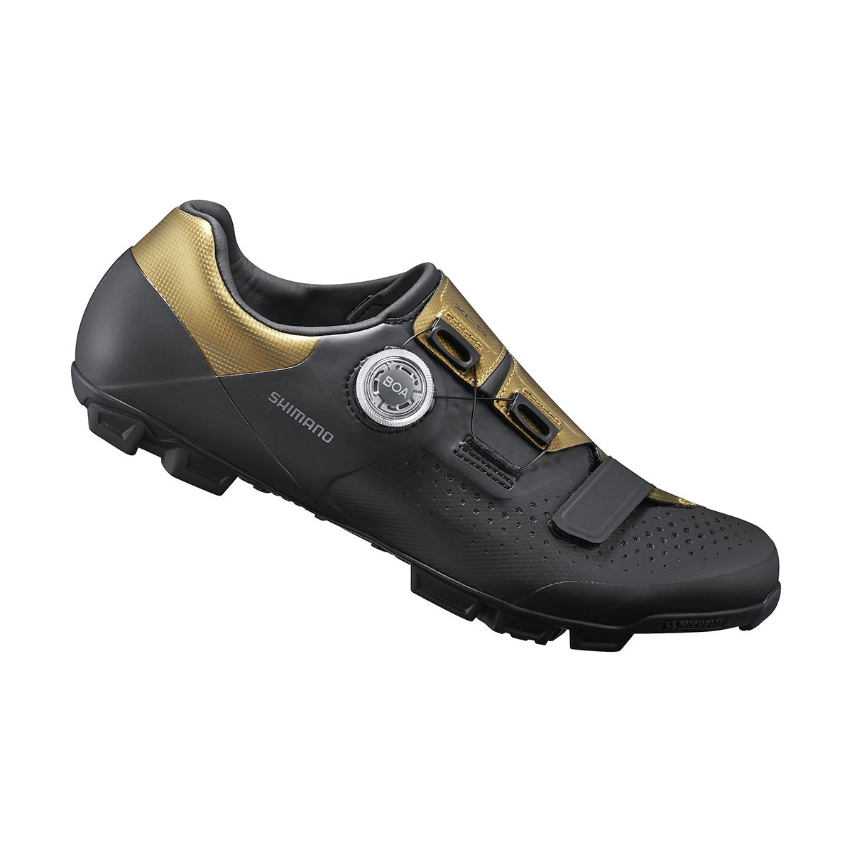 Shimano Shimano Chaussures VTT XC501 Noir/Doré
