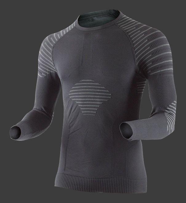 Sous Maillot X-Bionic Invent Homme noir manches longues