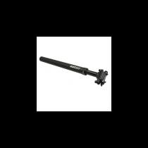 Tige de selle Suspendue  SATORI 40MM ALU Noir 31.6 L350mm