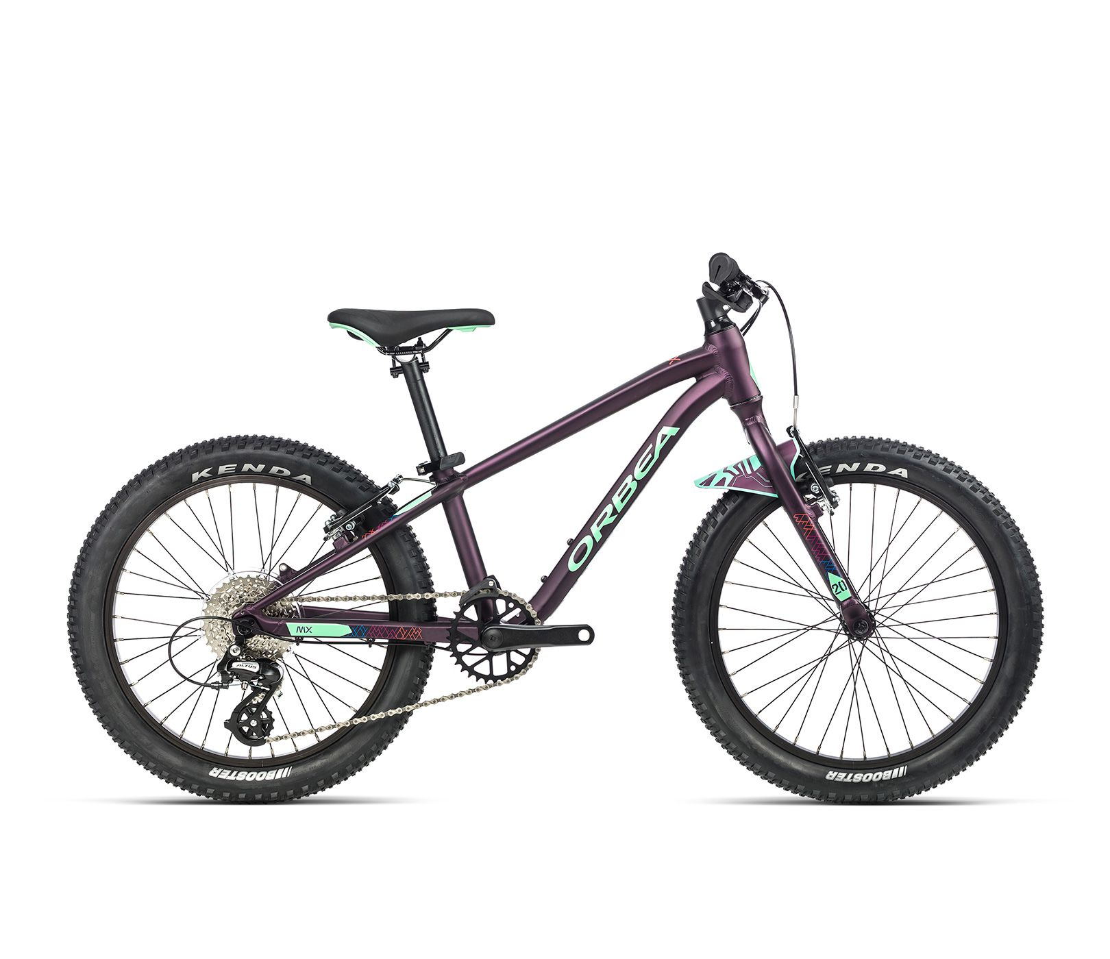 Vélo enfant Orbea MX 20 Team Violet/Menthe