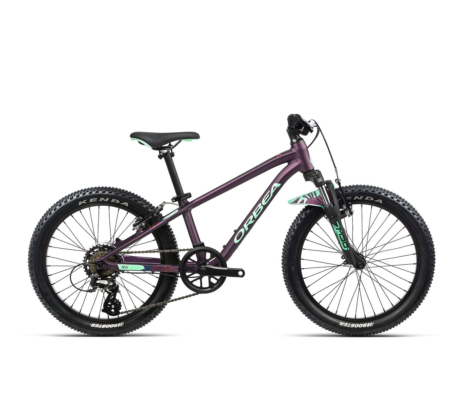 Vélo enfant Orbea MX 20 XC Violet/Menthe