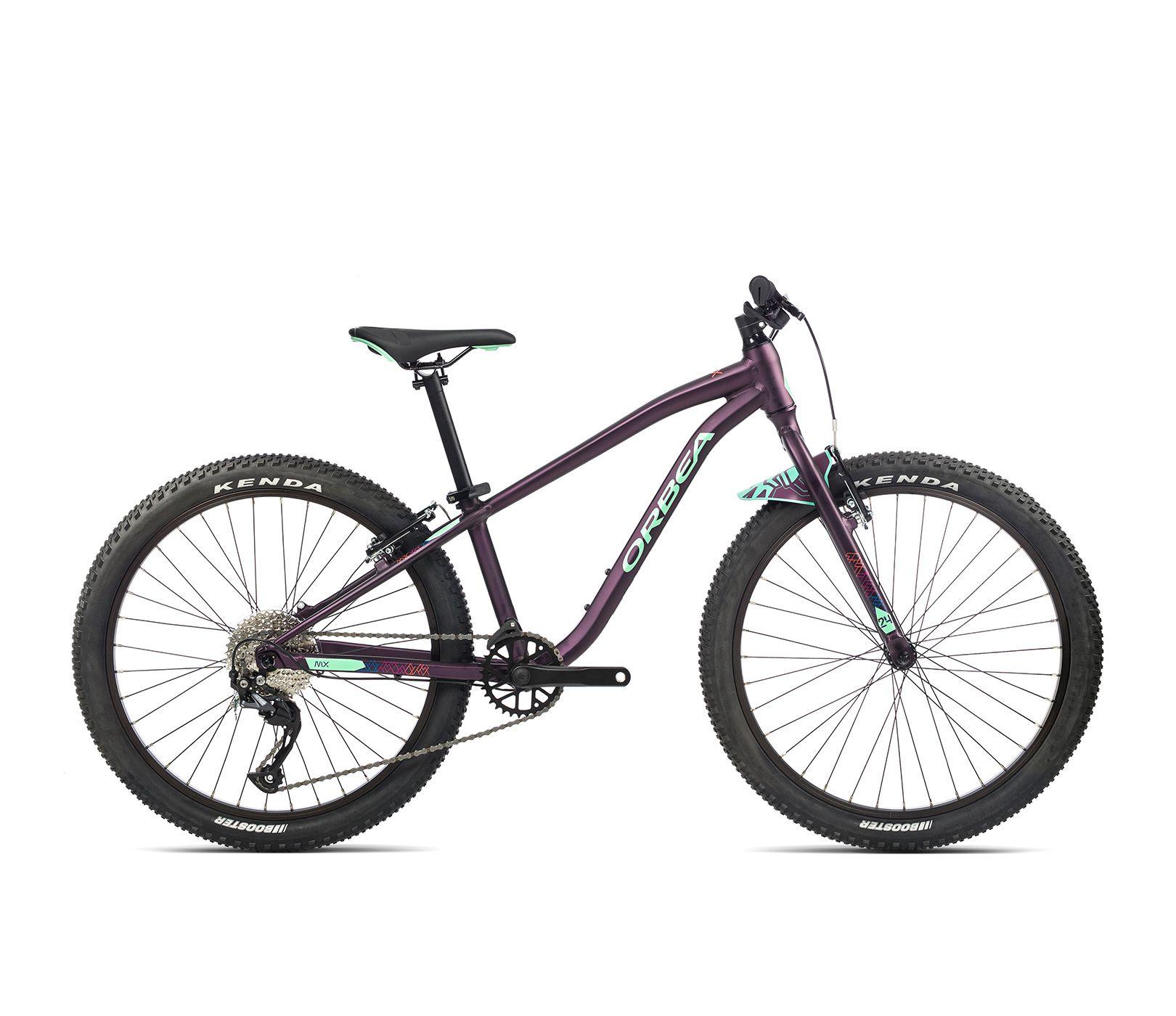 Vélo enfant Orbea MX 24 Team Violet/Menthe